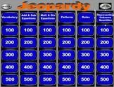 Algebra Jeopardy Game