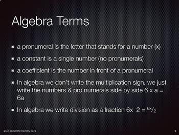 Algebra Laws