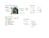 Algebra Lessons from Integers to Solving Equations (Smartboard)