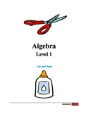 Algebra Level 1 - Cut and Paste