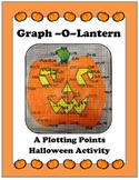 Algebra: Linear Graphing, Plotting Points, Halloween Activity - Pumpkin Graph