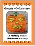 Algebra: Linear Graphing, Plotting Points, Halloween Activity - Pumpkin Graph