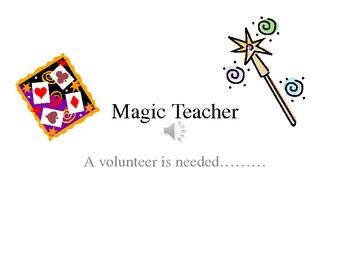 Algebra : Magic Teacher Powerpoint