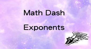 Algebra Math Dash Know Exponent Signs Fast