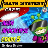 5th Grade Algebra - One Step Equations Algebra Review