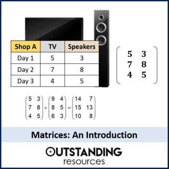 Algebra: Matrices 1 - adding and subtracting matrices plus scalars