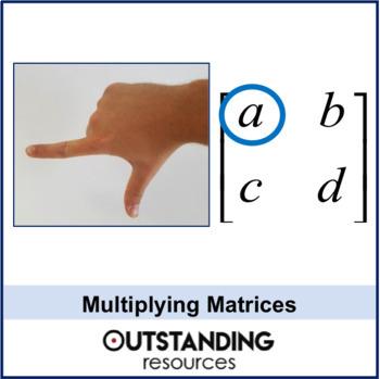 Algebra: Matrices 2 - Multiplying  matrices (2 x 2 matrix)