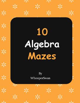 Algebra Maze