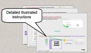 Algebra Multi Step Equations Digital Task Cards with GOOGLE Slides™