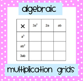 Algebra Multiplication Grids