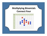 Algebra: Multiplying Binomials (FOIL) Connect Four Game