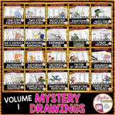 Algebra 1 Mystery Drawings Volume 1