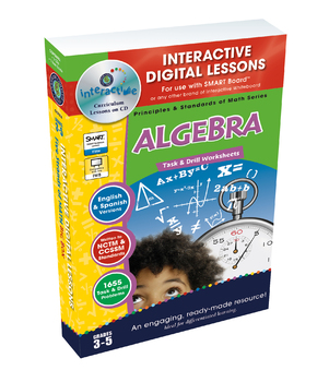 Algebra - NOTEBOOK Gr. 3-5