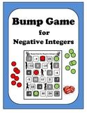Algebra: Negative Integers Bump Game!