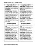 Algebra Notebook Tape-In - Sampling Methods