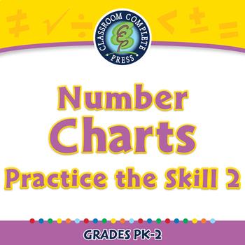 Algebra: Number Charts - Practice the Skill 2 - MAC Gr. PK-2