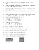 Algebra POLYNOMIAL TEST