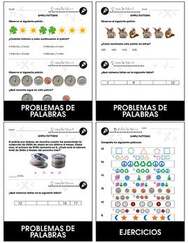 Álgebra: Patrones simples Gr. PK-2