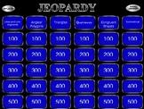 Algebra Patterns Jeopardy Game