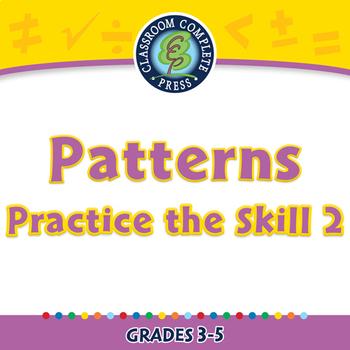 Algebra: Patterns - Practice the Skill 2 - MAC Gr. 3-5
