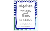 Algebra Patterns and Shapes - Input and Output - 4th Grade - Common Core
