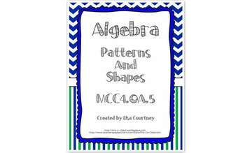 algebra patterns and shapes input and output 4th grade common core. Black Bedroom Furniture Sets. Home Design Ideas