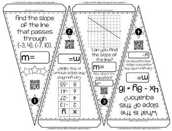 Algebra Pennants mini bundle