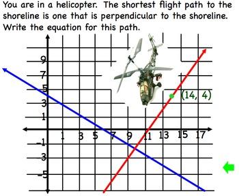Perpendicular Equations