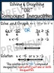"""Algebra Poster: Solving and Graphing Compound Inequalities """"OR"""""""