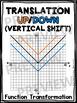 Algebra Poster: Vertical Shift