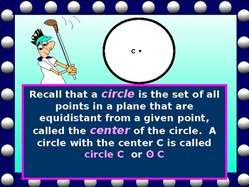 Geometry PowerPoint:  Tangents to Circles with GUIDED NOTES