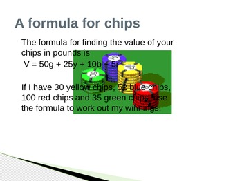 Algebra: USING FORMULAS - ENGAGING POWERPOINT with REAL LIFE PROBLEMS