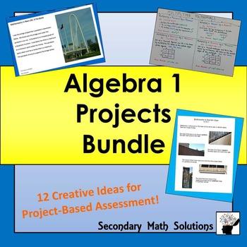 Algebra Projects Bundle