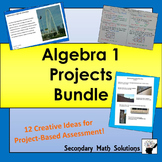 Algebra 1 Projects Bundle