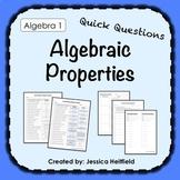 Algebraic Properties Activity: Fix Common Mistakes!