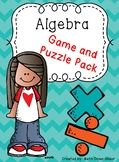 Algebra Puzzle and Game Bundle