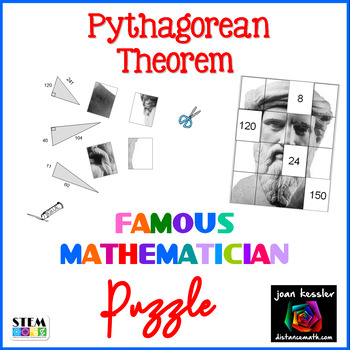 Algebra Pythagorean Theorem Famous Mathematician Puzzle