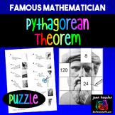 Algebra Pythagorean Theorem Famous Mathematician Puzzle