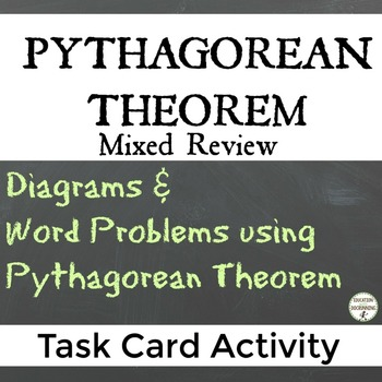 Pythagorean Theorem Task Card Activity