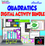 Quadratic Equations DIGITAL Activity Bundle with GOOGLE Slides™