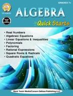 Algebra Quick Starts, Grades 7 - 12