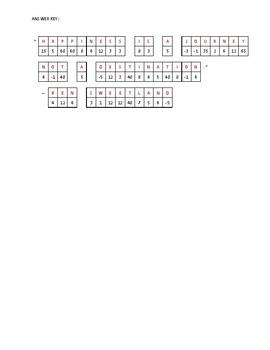 Algebra Quote Puzzle