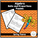 Algebra Ratio and Proportion Puzzles