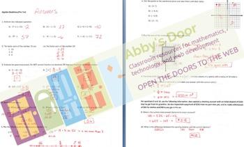 Algebra Readiness Test