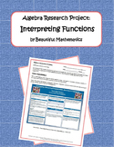 Algebra Research Project: Interpreting Functions