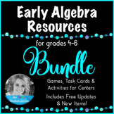 """Algebra Resources """"Forever"""" Bundle-Games, Activities and T"""