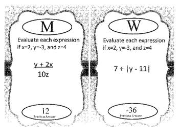 Algebra Review