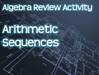 Algebra Review Activity - Arithmetic Sequences
