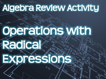 Algebra Review Activity - Operations with Radical Expressions