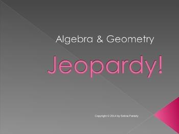 Algebra Review Jeopardy